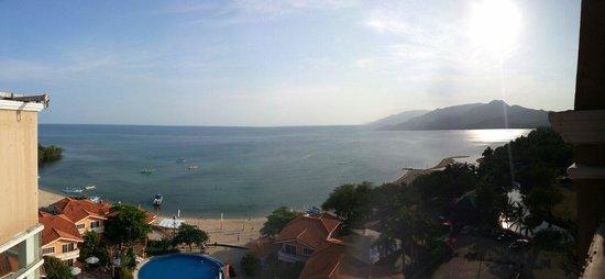 Estrellas de Mendoza Playa Resort: From the roofdeck