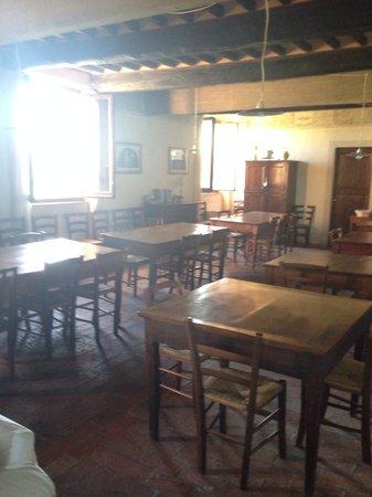 Agriturismo Il Rigo : Sala colazione e cena