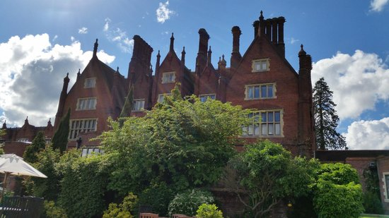 Dunston Hall: From the terrace