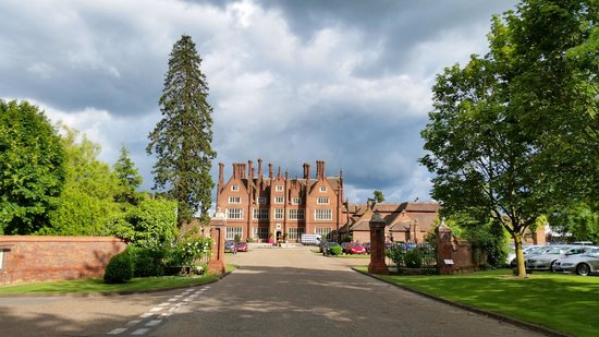 Dunston Hall: From the drive