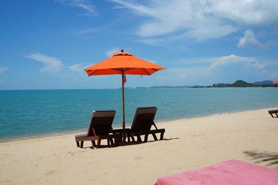 Santiburi Koh Samui: Beach