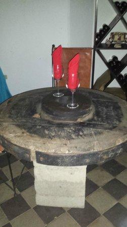 Restaurante Ciudad Lounge: Cartwheel Tabletop