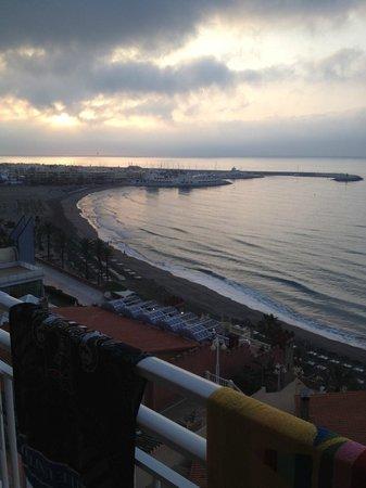 MedPlaya Hotel Villasol: View from balcony towards Marina