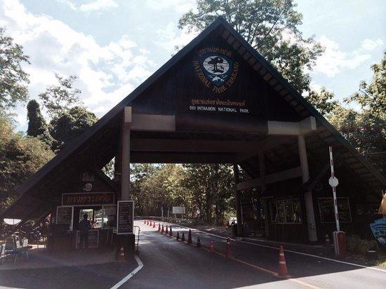 Doi Inthanon : Entrance to the park