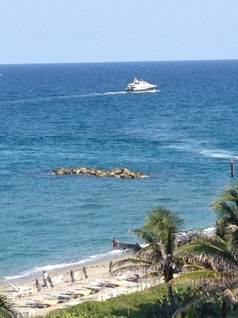 Boca Beach Club, A Waldorf Astoria Resort: From Hotel Room Overlooking the Atlantic