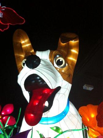 Winter Gardens & Opera House Theatre Blackpool : 20' high dog