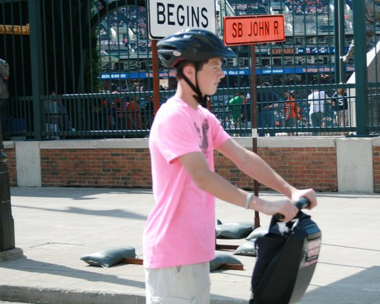 Segway Venice Tour & Rentals: Comerica Park - Segways in the D