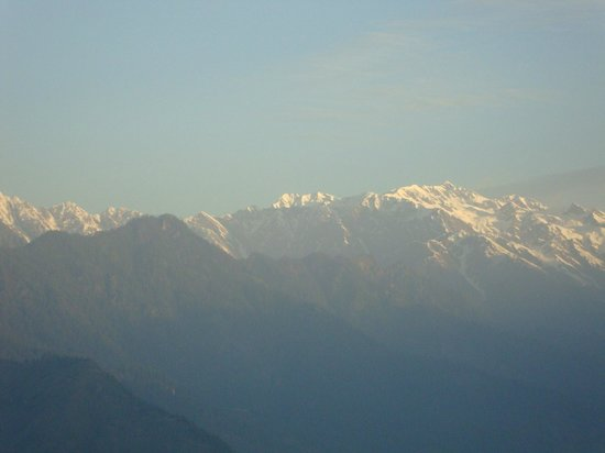 The Srikhand (HPTDC): View of snow-clad peaks