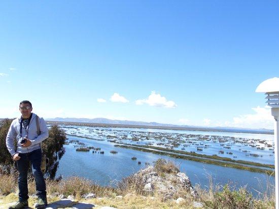 Libertador Lake Titicaca: vista desde el hotel