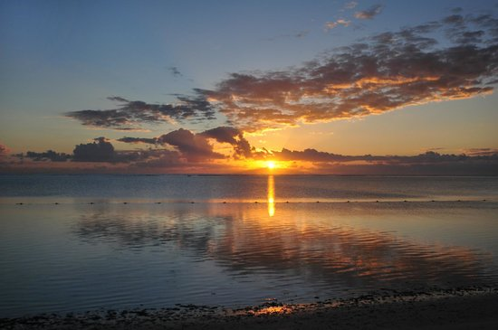 The Residence Mauritius: Sonnenaufgang vom Bett aus