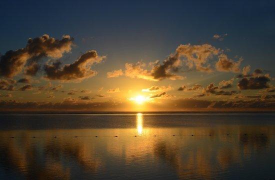 The Residence Mauritius: Sonnenaufgang, wieder etwas zu spät