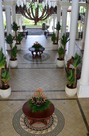 The Residence Mauritius: Der Empfangsbereich