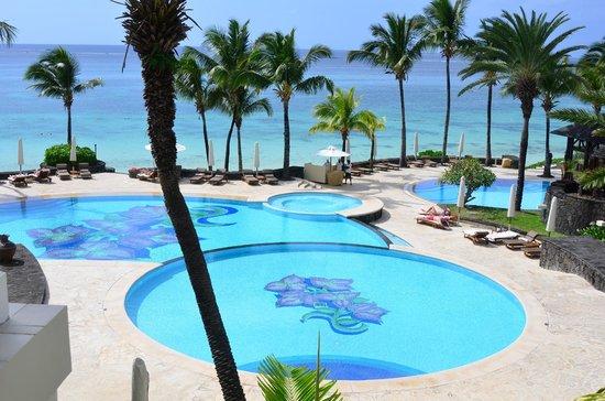 The Residence Mauritius: Blick von Oben