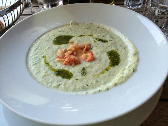 More: cold cucumber soup with shrimp ragout