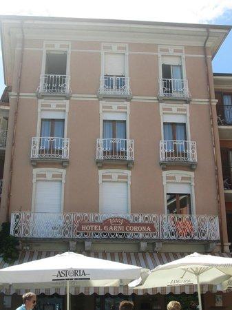 Hotel Garni Corona: Hotel front