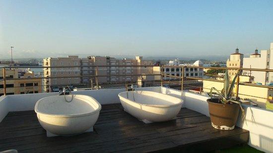 CasaBlanca Hotel: rooftop