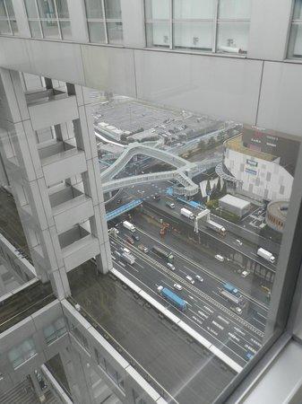 Fuji TV Odaiba : estructura