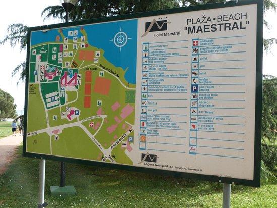 Aminess Maestral Hotel: Hotel Maestral Site Plan