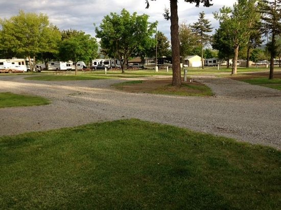 Spokane KOA : Beautiful grounds