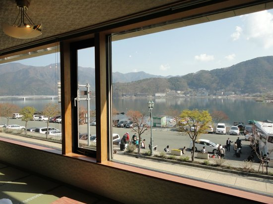 Kasuitei Oya : View from banquet hall