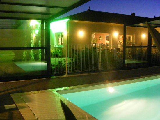 L'Auberge de Moricq : La piscine découvrable