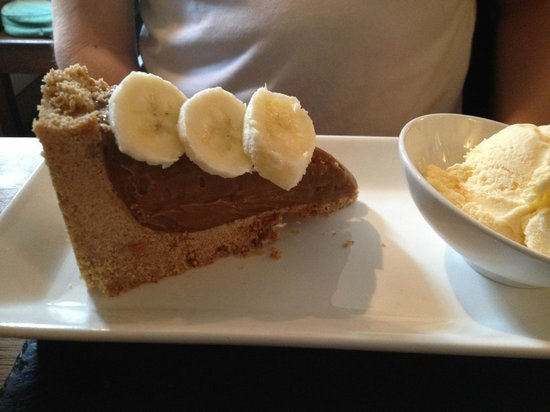 Plough Inn at Ford: Banoffee Pie