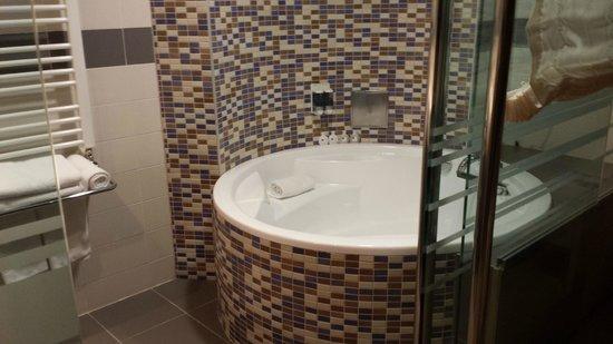 IN Hotel Belgrade: Bathroom suite