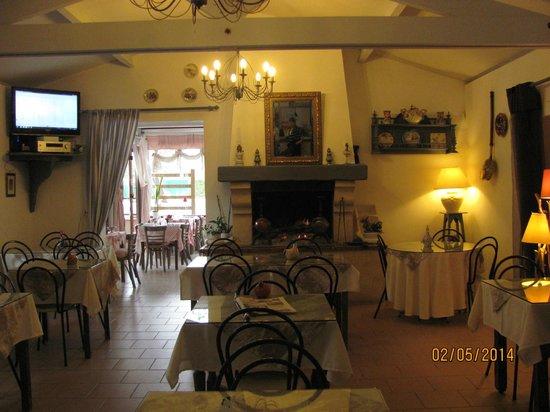 Hotel Restaurant La Riviere : petit déjeûner