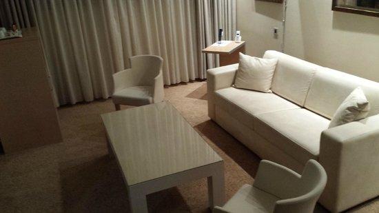 IN Hotel Belgrade: Suite - lounge