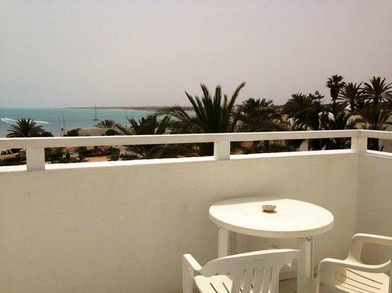 El Mouradi Djerba Menzel: Chambre vue sur mer