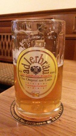 Adlerbraeu Restaurant : Im Brauhaus gebraut -dat was richtig lekker-