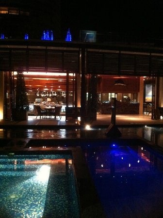 InterContinental Hua Hin Resort : Beach front cafe