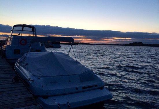 Knockninny Country House & Marina : Sunset from Knockninny Marina