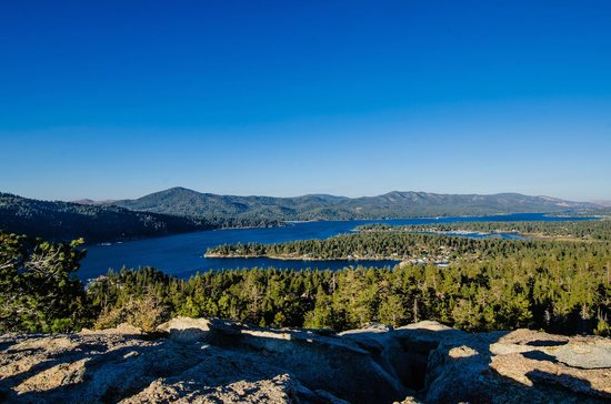 Big Bear City, CA: Big Bear's Castle Rock hiking trail