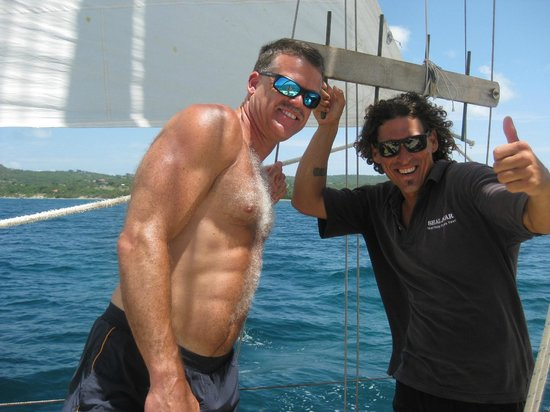 Vieques Classic Charter - Tours: Greg with Nackey