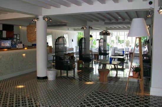 Hotel H10 Big Sur : de mooie inkomhal