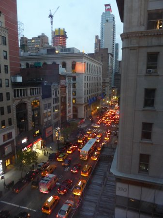 Langham Place, New York: View of Fifth Ave from our room