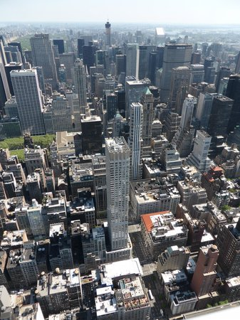 Langham Place, New York: View of The Langham from the top of the Empire State
