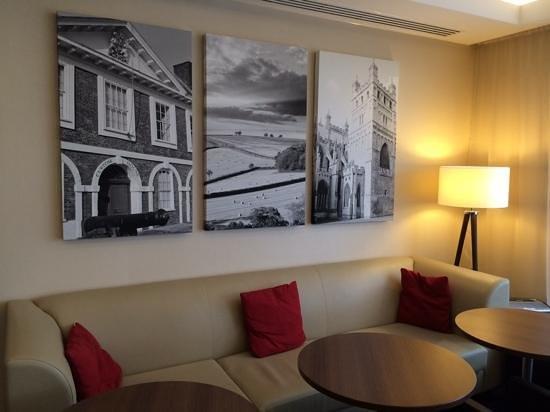 Hampton by Hilton Exeter Airport : Lounge with Devon photos