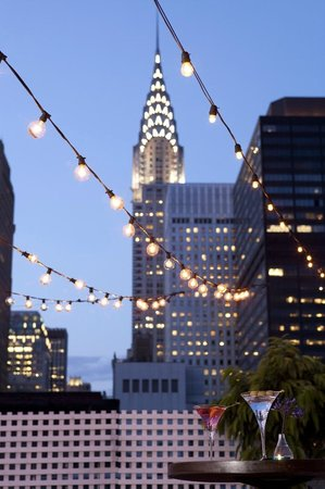 Shelburne NYC–an Affinia hotel: Hotel Rooftop
