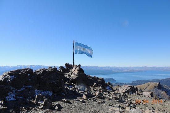 Cerro Catedral Ski Resort: pico e bandeira