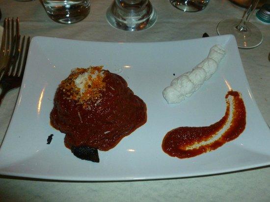 Pulcinella Bistro: Parmigiana Vesuvio