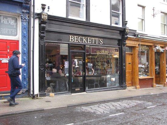 Beckett's coffee shop : street view