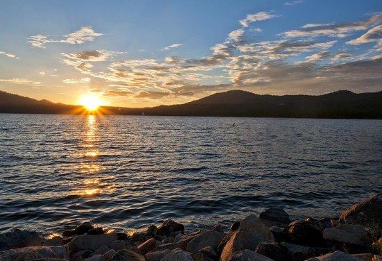 Big Bear Region, CA: Big Bear Lake CA sunsets