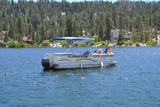 Big Bear Lake Ca Trout And Bass Fishing Picture Of Big