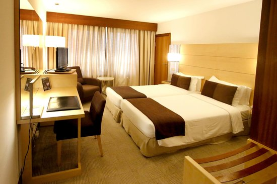 Hotel Açores Lisboa : Twin room