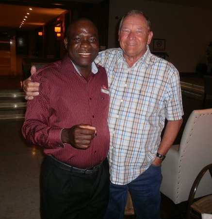 Kaya Belek Hotel: David with my husband