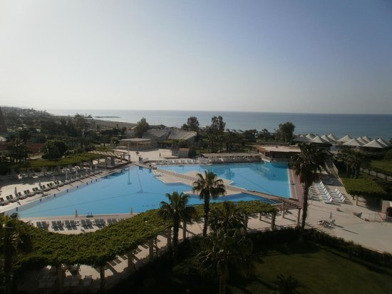 Kaya Belek Hotel: The view from our balcony