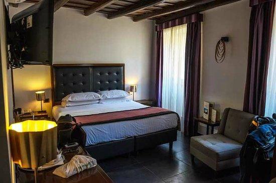 Navona Colors Hotel : el cuarto que nos dieron
