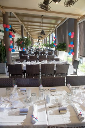 CILO City Lounge : The Set-Up for our Rehersal Dinner